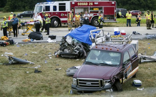 Five family members dead in highway crash