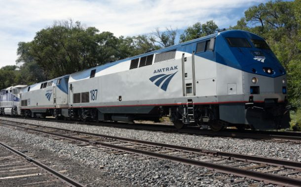 Amtrak train collides with semi-truck nearly ripping it in half