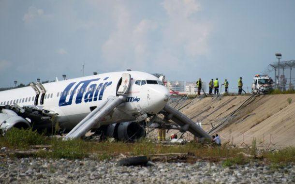 Russian airport worker dies, 18 hurt in plane crash