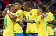Paulinho and Thiago Silva put Brazil through and send Serbia home
