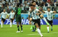 Marcos Rojo's late goal seals Argentina's World Cup progress against Nigeria