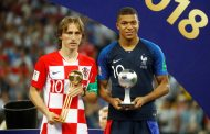 Modric wins Golden Ball as Mbappe named best young player