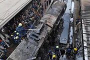 At least 25 killed as train crashes in Cairo station, erupting in ball of flames