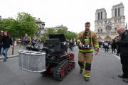 Meet the firefighting robot that helped save Notre Dame