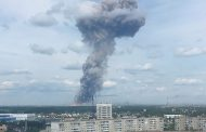 Massive explosion at Russian bomb-making factory 79 injures