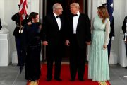 Trump hosts Australian prime minister for White House state dinner