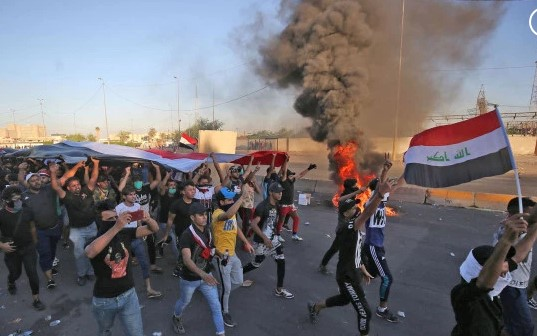 More than 72 dead after days of violent protests rock Iraq