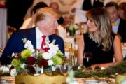 Trump and Melania attend Christmas Eve church service before Mar-a-Lago dinner
