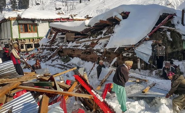 More than 130 dead as avalanches and floods hit Pakistan, Afghanistan and adjacent state of India