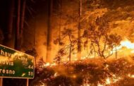 US -Wildfires burn through record area in California as blazes continue to spread