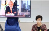 Bach offers pep session for Tokyo Games and talks up vaccine