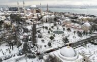 Snowfall blankets Istanbul, boosts water resources