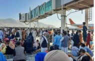 Kabul planes mobbed as Afghans make a desperate dash to exit
