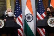 Indian prime minister Modi meets first Indian American VP Harris
