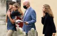 US President Biden takes Columbus Day off, attends wedding amid approval slump