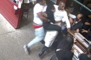 US-Tourists who attacked Carmine's hostess face up to one year in jail